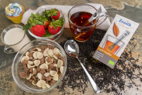 English Breakfast organic tea