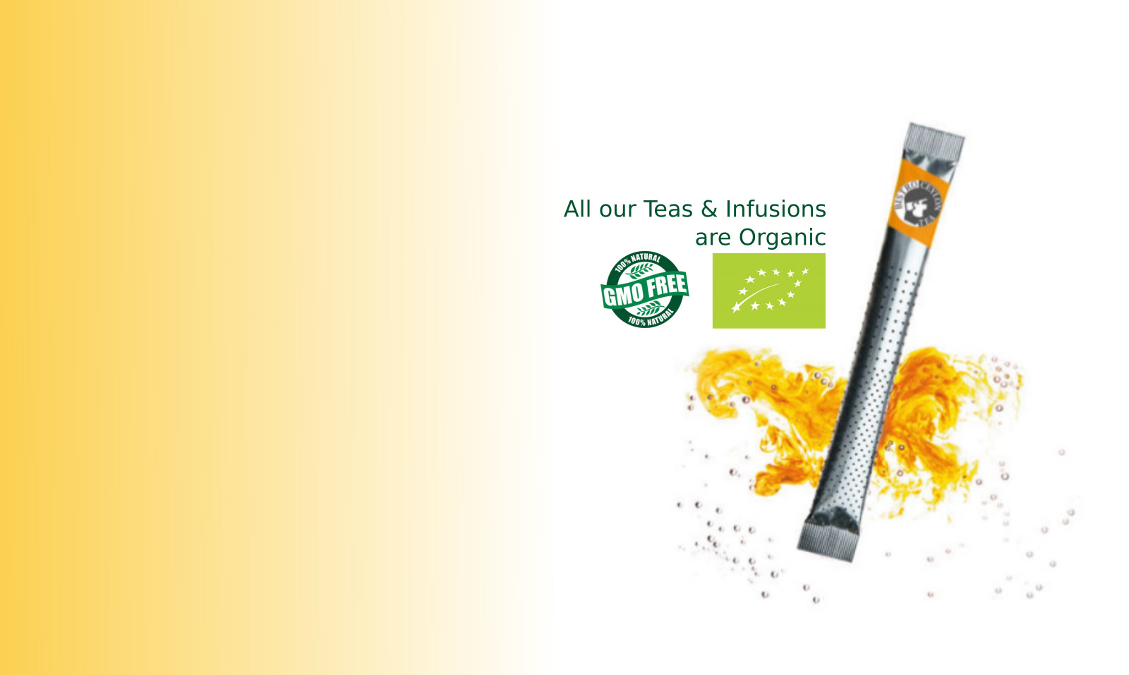 GMO free organic teas & infusions