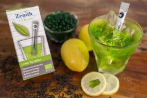 Green tea lemon organic tea
